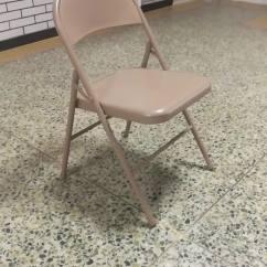 Folding Chair For Living Room Zebra Modern Design Used All Steel Metal