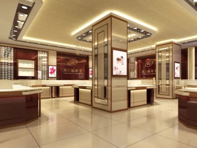 Modern Jewelry StoreShop Furniture Display For Jewelry