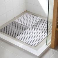 30*30cm Eco Friendly Colorful Plastic Bathroom Mat Carpet ...