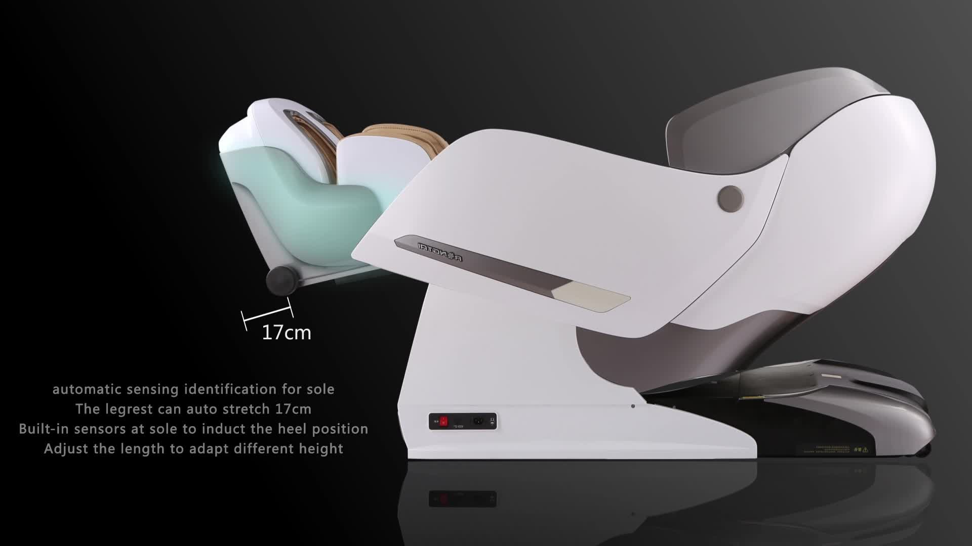 rongtai massage chair covers for hire manchester rt8600s high end full body 3d shiatsu