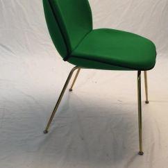 Chair Design Gold Compact Folding Danish Legs Beetle Gubi With Velvet