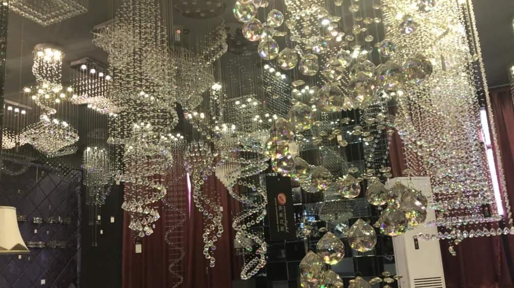 medium resolution of sprial tail chandelier crystal stair chandelier elegant crystal chandelier om9213