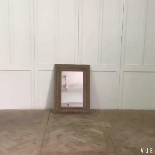 Vintage Wood Frame Hotel Bathroom Mirrors  Buy Mirrors