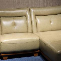 Corner Sofa Set Latest Design Leather With Nailhead Trim Living Room Furniture Modern Stanley