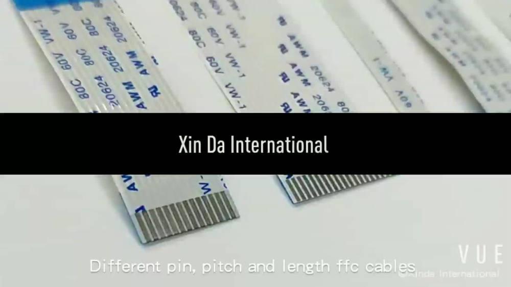 medium resolution of awm 2896 80c 30v vw 1 9 pin ribbon cable for uv printer