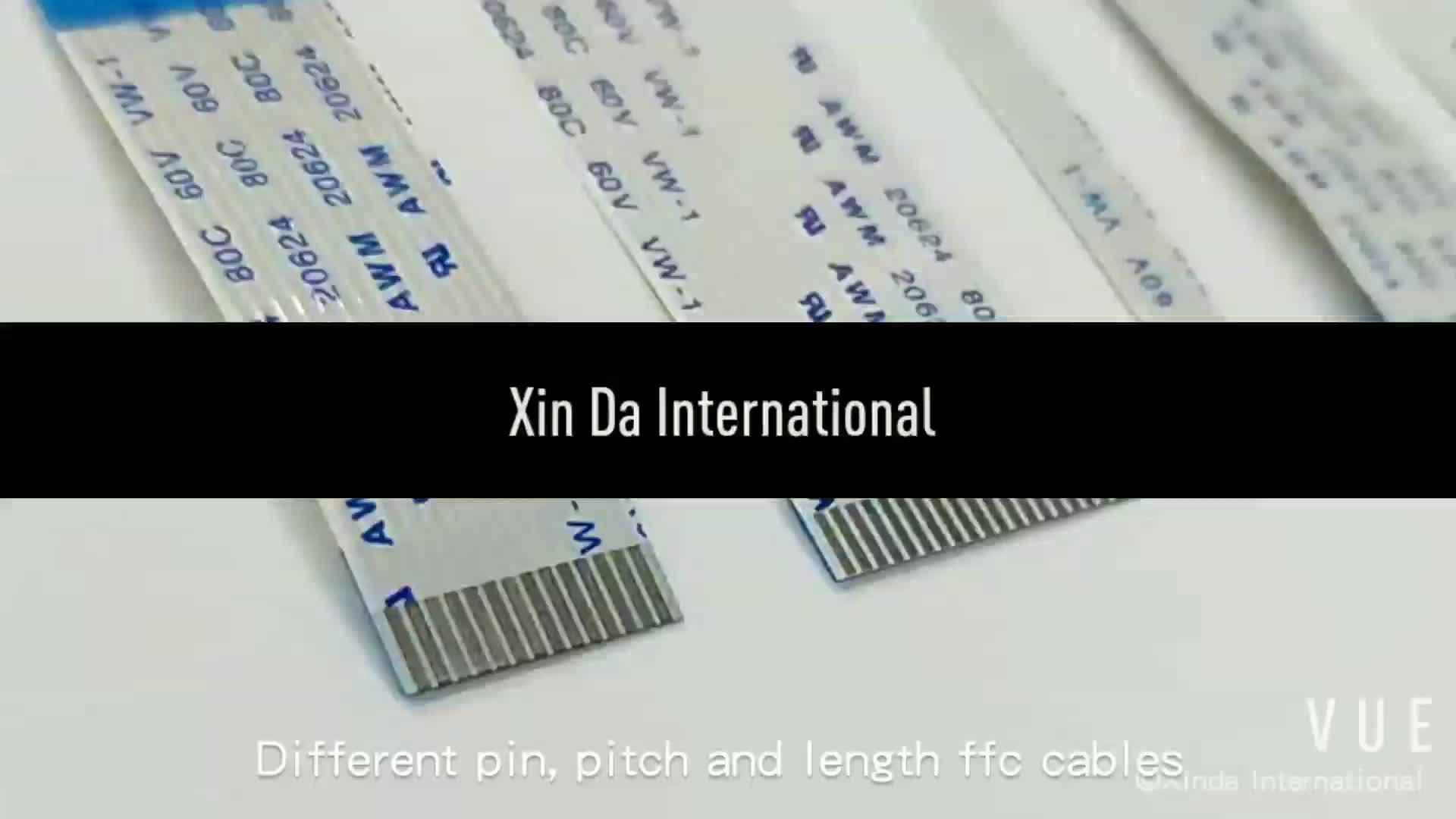 hight resolution of awm 2896 80c 30v vw 1 9 pin ribbon cable for uv printer