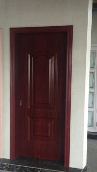 Latest Design Wooden Doors Interior Door Steel Wood Room ...