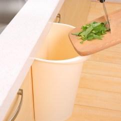 Kitchen Wall Mounted Cabinets 8 Inch Knife 天天特价 无盖壁挂式垃圾桶塑料橱柜大号收纳桶厨房可挂垃圾桶 爱扫优惠 包邮