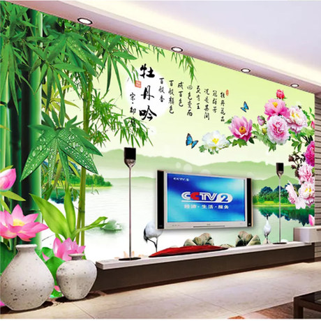 3d Tv Background Wall Living Room 5d Wallpaper Bedroom Video Wall Decoration Seamless Wall Covering 8d Stereo Bump Mural