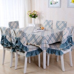 High Chair Table Cover French Country Dining Chairs Nz Buy Section Nest Versatile Wood Folding Pastoral Plaid Tablecloth Cloth Coffee Cushion Cotton