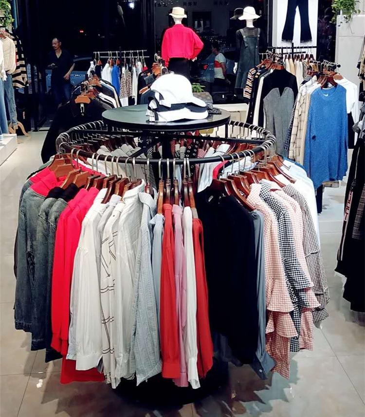 clothing store display racks