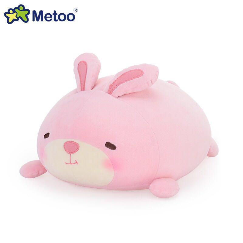 Metoo咪兔正品可愛獅子動物萌團趴趴枕抱枕靠枕毛絨公仔兒童生日 - 淘寶天貓 - LINE購物