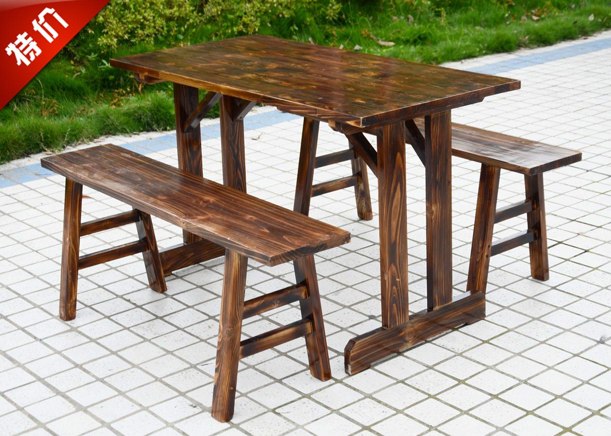 outdoor restaurant chairs black velvet chair nz buy factory direct wood patio bar and coffee tables combo kit leisure in cheap price on