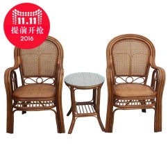 Comfortable Wicker Chairs Behind The Chair Show 2019 Buy Yiyuan Southern Indonesia Plant Rattan Armchair Balcony Coffee Table Combination Of