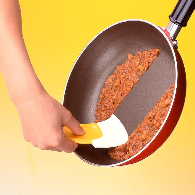 kitchen spatula curtains cheap 日本廚房家居用品km創意烘焙工具矽膠刮刀抹刀鍋底清潔刮耐高溫 淘寶天貓