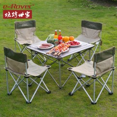 Folding Chair Picnic Table Costco Recliner Buy Family Barbecue Grill Outdoor Tables And Chairs Portable Aluminum In Cheap Price On M Alibaba