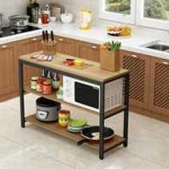 Kitchen Workbench Non Scratch Sinks 不锈钢拉面工作台diy 不锈钢拉面工作台尺寸 不锈钢拉面工作台价格 推荐 拉面木板双层台工作台厨房操作台桌子案板台切菜台
