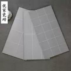 Gray Subway Tile Kitchen Free Standing 灰色面包砖价格 灰色面包砖颜色 灰色面包砖种类 设计 淘宝海外 北欧小灰砖卫生间墙砖厨房瓷砖格子黑白灰色地铁砖面包砖