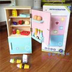 Wood Kitchen Playsets Tile For Backsplash In 木制厨房玩具组推荐 木制厨房玩具组哪里买 木制厨房玩具组批发 Diy 新版木质仿真厨房冰箱组合男女孩儿童过家家做饭玩具宝宝