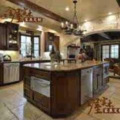 Oak Kitchen Islands Storage Ideas For Small Spaces 厨房中岛柜设计 厨房中岛柜尺寸 厨房中岛柜收纳 颜色 淘宝海外 美式简约嵌入式橱柜纯实木厨房柜橡木中岛柜操作台定制