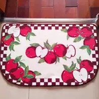 apple kitchen rugs space savers cabinets 苹果地毯颜色 苹果地毯设计 苹果地毯推荐 价格 淘宝海外 地毯门垫苹果入户d形卧室垫进门垫浴室垫厨房垫