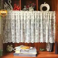 cheap kitchen curtains scrubbers 厨房小窗帘新品 厨房小窗帘价格 厨房小窗帘包邮 品牌 淘宝海外 特价半帘咖啡帘短帘美式北欧小窗帘门帘柜帘波浪小