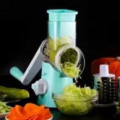 Mandolin Kitchen Slicer High Top Table Set 食品切片机技巧 食品切片机做法 食品切片机神器 的做法 淘宝海外 厨房手摇食品机械果蔬土豆蔬菜切片机切割机多功能切菜