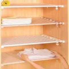 Kitchen Cabinet Latches Options 卧室厨柜新品 卧室厨柜价格 卧室厨柜包邮 品牌 淘宝海外 加层衣服厨柜隔板分层架家用免钉收纳多功能