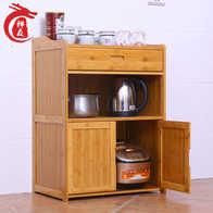 bamboo kitchen cabinets round pedestal table 厨柜角设计 厨柜角收纳 厨柜角推荐 店 淘宝海外 家用实木酒水调味用品储物厨柜厨房墙角电器收纳碗具置物