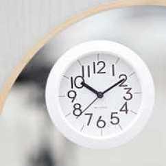 Kitchen Clocks Knotty Pine Cabinets 吸盘表厨房新品 吸盘表厨房价格 吸盘表厨房包邮 品牌 淘宝海外 个性简约现代浴室钟防水静音家用厨房钟表时尚吸盘创意迷你小挂钟