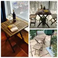 Retro Kitchen Tables Corner Booth 厨房桌椅尺寸 厨房桌椅高度 厨房桌椅价格 推荐 淘宝海外 小户型实木折叠餐桌椅双人休闲户外折叠桌阳台厨房小桌子