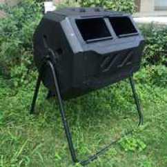 Kitchen Compost Container Bar Chairs 自制有机堆肥新品 自制有机堆肥价格 自制有机堆肥包邮 品牌 淘宝海外 堆肥桶160l可翻转堆肥容器出口优品自制有机肥发酵桶