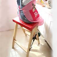 kitchen stool mission style cabinets 厨房凳子家用尺寸 厨房凳子家用高度 厨房凳子家用设计 推荐 淘宝海外 实木折叠凳简约现代折叠梯凳家用厨房凳便携小凳子成人登高