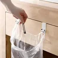 kitchen trash bags interior design 厨房垃圾袋钩新品 厨房垃圾袋钩价格 厨房垃圾袋钩包邮 品牌 淘宝海外 日本进口创意厨房垃圾袋挂架橱柜壁挂卡通门后无痕挂钩