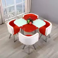 Round Glass Kitchen Table Large Sink 厨房桌椅尺寸 厨房桌椅高度 厨房桌椅价格 推荐 淘宝海外 简约现代客厅小桌子省空间玻璃桌子圆钢化4人家用厨房餐