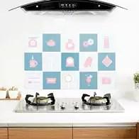 zephyr kitchen hood hanging utensils in 厨房隔热墙贴设计 厨房隔热墙贴布置 厨房隔热墙贴图片 颜色 淘宝海外 厨房防油贴纸瓷砖灶台橱柜油烟机防污耐高温隔热