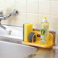 kitchen tool holder waterstone faucets 厨房工具架印刷 厨房工具架加工 厨房工具架厂商 价格 淘宝海外 厨房工具储物架吸盘置物架百洁布肥皂沥水架吸壁