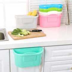 Tall Kitchen Bin Weird Gadgets 加高垃圾桶价格 加高垃圾桶分类 加高垃圾桶推荐 回收 淘宝海外 创意可挂式壁挂式加厚加高大号塑料厨房悬挂橱柜门