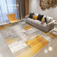 orange kitchen rug cabinet door replacements 橙色地毯客厅价格 橙色地毯客厅清洗 橙色地毯客厅设计 推荐 淘宝海外 简约现代客厅橙色地毯卧室家用北欧床边茶几抽象毯新中式水墨