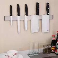 Kitchen Magnets Cushions 厨房磁铁新品 厨房磁铁价格 厨房磁铁包邮 品牌 淘宝海外 304不锈钢磁石刀架厨房挂式创意磁性磁力刀架刀座吸铁石