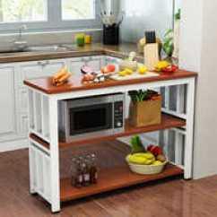 Wooden Kitchen Table Instock Cabinets 厨房小长桌尺寸 厨房小长桌高度 厨房小长桌价格 推荐 淘宝海外 厨房切菜桌多功能桌厨房小桌子餐桌家用两层三层