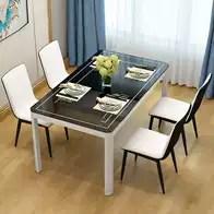 kitchen dinettes franke faucet 厨房餐桌椅组合尺寸 厨房餐桌椅组合高度 厨房餐桌椅组合价格 推荐 淘宝海外 欧式田园风家用美式防水新款厨房餐桌椅组合椅子小型后现代