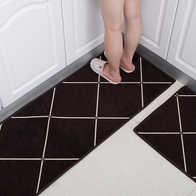 kitchen rug set cabints 地毯套装新品 地毯套装价格 地毯套装包邮 品牌 淘宝海外 厨房地垫长条套装防滑门垫进门入户门口吸水脚垫