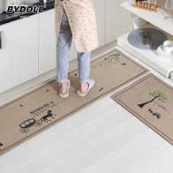 kitchen carpet sets kraus sink 地毯套新品 地毯套价格 地毯套包邮 品牌 淘宝海外 bydoll厨房长条地垫入户门垫门厅卧室布艺脚垫防滑