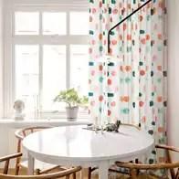 curtains kitchen pink aid 厨房窗帘布颜色 厨房窗帘布摆设 厨房窗帘布设计 印刷 淘宝海外 简约现代小清新窗帘遮光布棉麻北欧客厅餐厅厨房田园窗帘隔