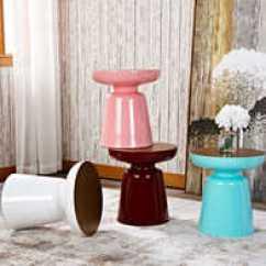 Two Tone Kitchen Table And Chair Set 双色桌子哪里买 双色桌子评价 双色桌子价格 清洗 淘宝海外 马提尼边几双色磨砂面北欧沙发角几现代创意马卡
