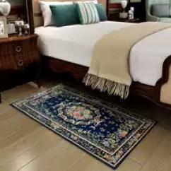 Navy Blue Kitchen Rugs Islands Lowes 蓝色地毯门垫颜色 蓝色地毯门垫设计 蓝色地毯门垫推荐 价格 淘宝海外 地垫门垫进门卧室床边楼梯踏步垫蓝色地中海玄关厨房