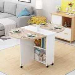 Circle Kitchen Table Filter 厨房折叠桌新品 厨房折叠桌价格 厨房折叠桌包邮 品牌 淘宝海外 简易圆形折叠餐桌小户型家用可移动带轮长方形简约多功能