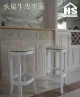wood kitchen chairs islands on sale 厨房椅子尺寸 厨房椅子高度 厨房椅子设计 推荐 淘宝海外 九年老店欧式简约头层牛皮木吧凳真皮酒吧椅高