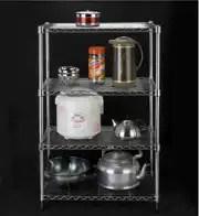 metal kitchen shelves remodel on a budget 厨房置物架子金属四层设计 厨房置物架子金属四层收纳 厨房置物架子金属四 四层金属厨房置物架微波炉架调料架架子货架收纳架阳台杂